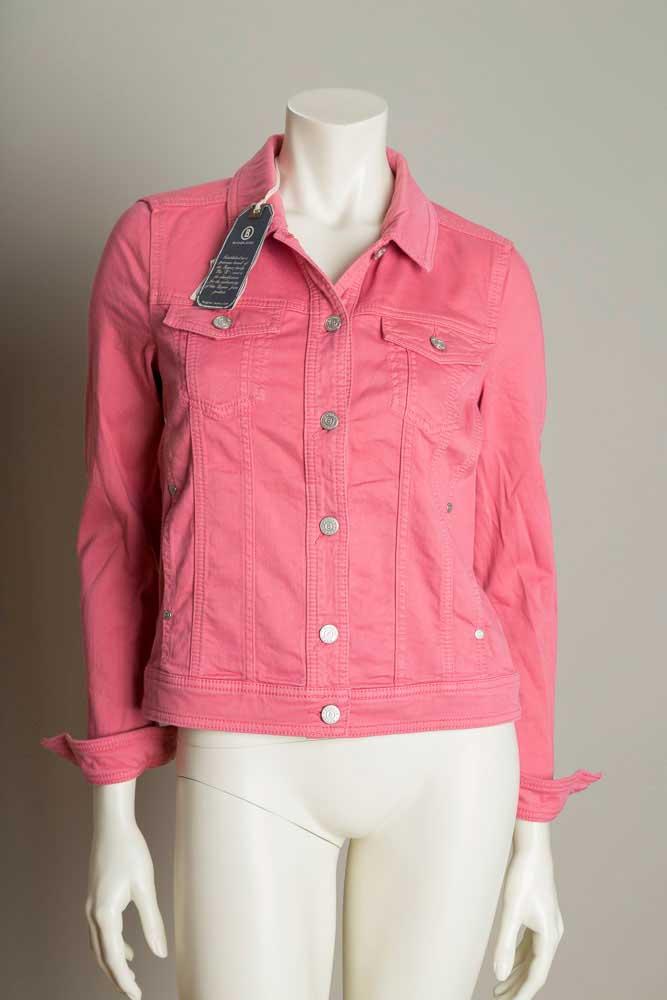 bogner jeans damen jeansjacke leah gr 36 pink neu ebay. Black Bedroom Furniture Sets. Home Design Ideas
