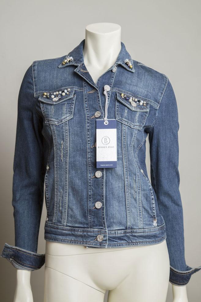 bogner jeans damen jeansjacke janet gr xs neu ebay. Black Bedroom Furniture Sets. Home Design Ideas